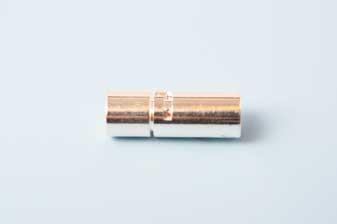 Bajonetlås, FS, 7x20 mm, indv. 6 mm, 1 stk.