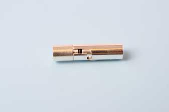 Bajonetlås, FS, 5x23 mm, indv. 4 mm, 1 stk.