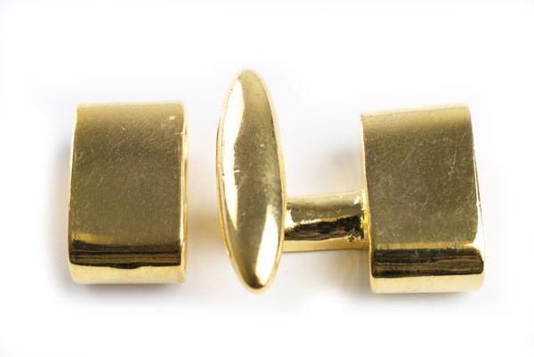 Hægtelås, FG, ca. 20x21x9 mm, 1 sæt