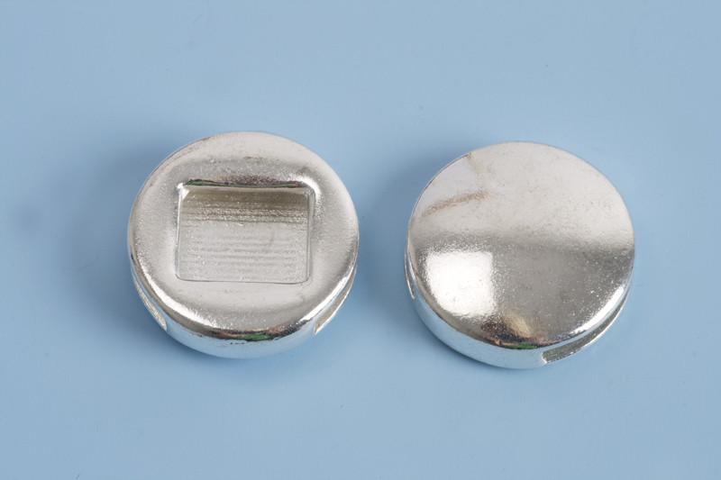 Slide, mønt, 18x4 mm, FS, 2 stk.
