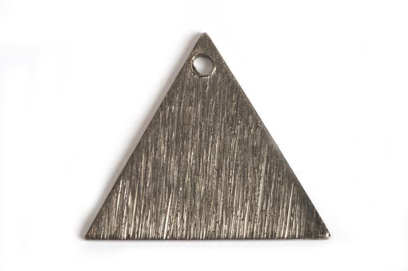 Trekant, børstet, ca. 15 mm, BP, 2 stk.