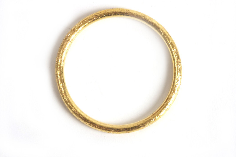 Børstet ring, 1,2 mm, indv. ca. 14 mm, FG, 2 stk.