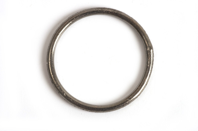 Børstet ring, 1,2 mm, indv. ca. 14 mm, BP, 2 stk.
