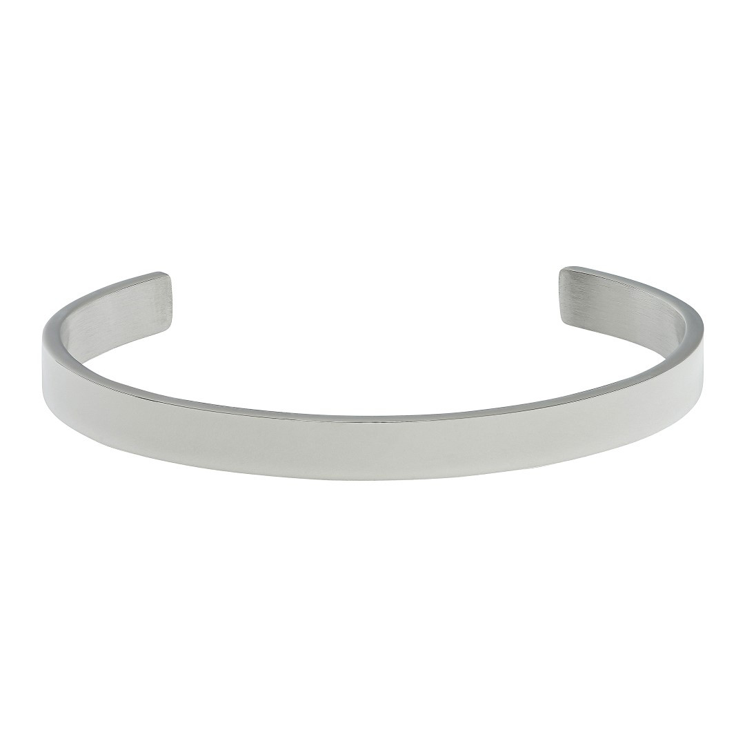Plain Bangle Steel