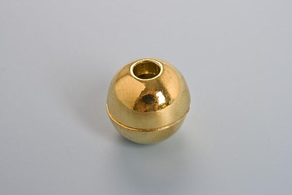Magnetlås, rund, 13x12 mm, FG, indv. 4 mm, 1 stk.
