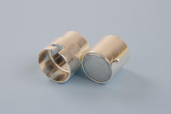 Bajonetlås, FS, 11x18 mm, indv. 9 mm, 1 stk.