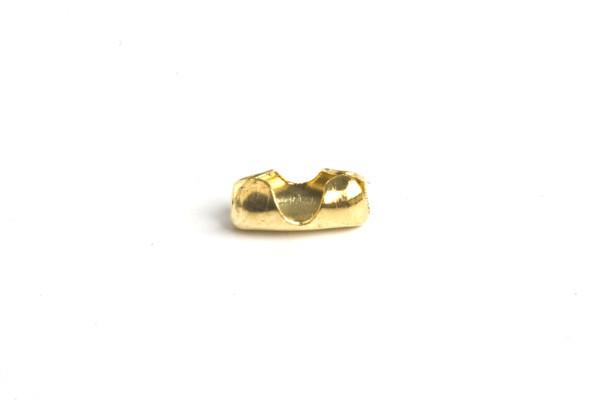 Lås til kuglekæde, 5x2,5x2 mm, FG, 10 stk.