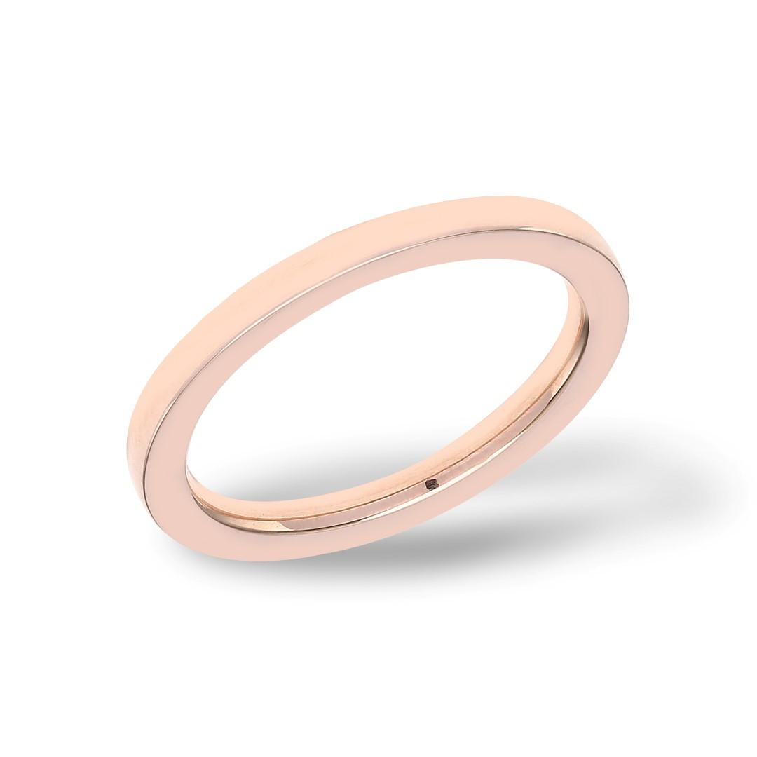 Plain Ring Rosegold