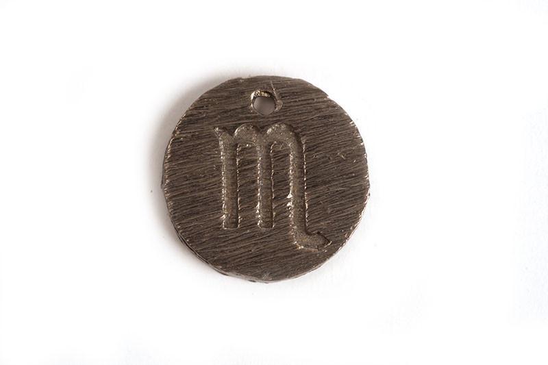 Stjernetegn, skorpion, 12 mm, BP, 1 stk.