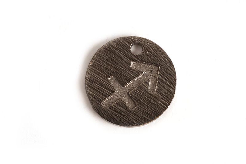 Stjernetegn, skytte, 12 mm, BP, 1 stk.