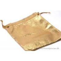 Smykkepose, guld, 120x90 mm, 10 stk.
