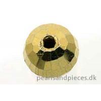 Discoperle, 10 mm, forgyldt 925s, 1 stk.