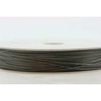Smykkewire, stål, 0,35 mm x 100 m, 1 stk