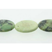 Green Grass, oval, mat, ca. 22x30 mm, 1 streng