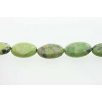 Green Grass, oval, ca. 13x18 mm, 1 streng