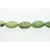 Green Grass, oval, ca. 13x18 mm, 1 streng