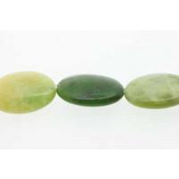Green Grass, oval, ca. 18x25 mm, 1 streng