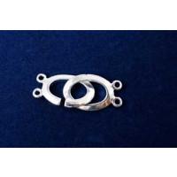 Ringlås, oval, FS, 30x11 mm, 1 stk.