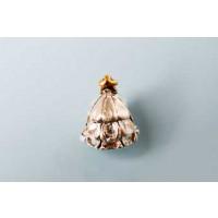 Perle, juletræ, FS, 13x10 mm, 1 stk.