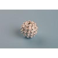 Perle, pindsvin, ca. 16 mm, 925s, 1 stk.