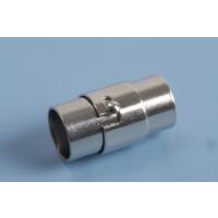 Bajonetlås, 18x7 mm, indv. 6 mm, rustfrit stål, 1 stk.