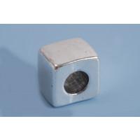 Perle, firkantet, 13x11x13 mm, FS, 1 stk.