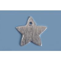Stjerne, børstet, topboret, 11 mm, FS, 2 stk.