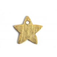 Stjerne, børstet, topboret, 11 mm, FG, 2 stk.