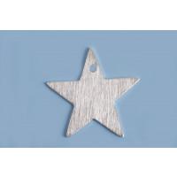 Stjerne, børstet, topboret, 20 mm, FS, 2 stk.