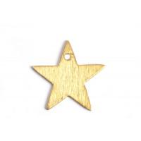 Stjerne, børstet, topboret, 20 mm, FG, 2 stk.