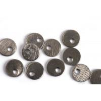 Mønt, børstet, topboret, 6 mm, BP, 6 stk.