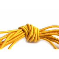 Elastiktråd, orange, 1 mm, 3 meter