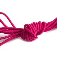 Elastiktråd, pink, 1 mm, 3 meter