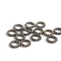 Snoet ring, 6x1 mm, BP, 20 stk.