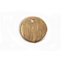 Mønt, børstet, topboret, 10 mm, RG 2 stk.