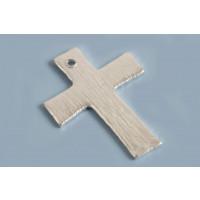 Kors, børstet, ca. 8x18 mm, FS, 2 stk.
