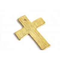 Kors, børstet, ca. 8x18 mm, FG, 2 stk.