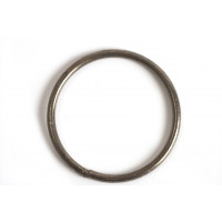 Børstet ring, 1,2 mm, indv. ca. 17 mm, BP, 2 stk.
