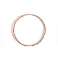 Snoet ring, ca. 46 mm, RG, 1 stk.