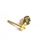 Ørestikker m/perleskål m/spyd, 925s, 1 par