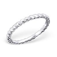 Bubbles Ring Silver