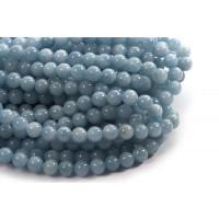 Jade, lyseblå, 10 mm, 1 streng