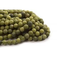 Korea Jade, mat, 12 mm, 1 streng