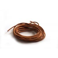 Lædersnøre, natur, 2 mm, 3 meter