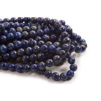 Lapis Lazulis, 10 mm, 1 streng