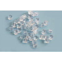 Bagstopper til ørestikker, plastic, ca. 4x3 mm, 100 stk.