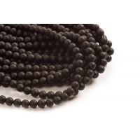 Blackstone, mat, sort, 8 mm, 1 streng