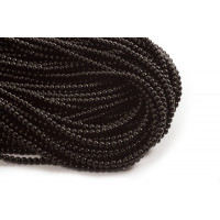Blackstone, blank, sort, 4-5 mm, 1 streng
