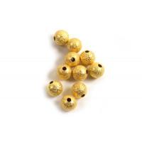 Perle, stardust, ca. 6 mm, FG, 10 stk.