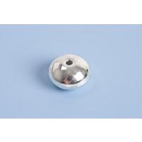 Perle, rondel, ca. 10x7 mm, FS, 4 stk.